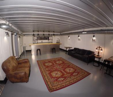 Restructuration d'un Blockaus en salle de réception : Travaux de plomberie sanitaire Brest